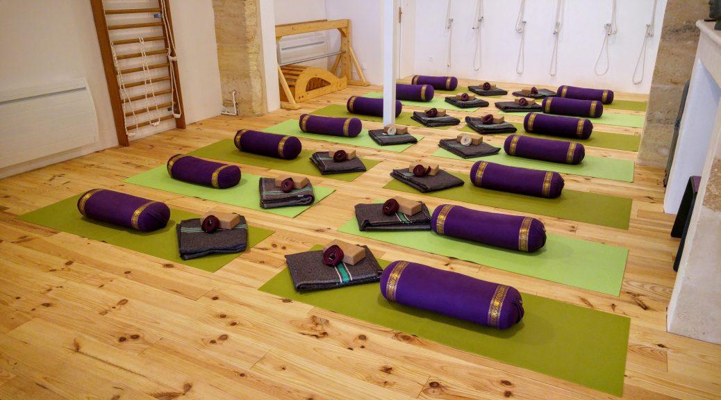 salle de pratique Yoga Bordeaux St Seurin